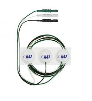 Radiolucent Cloth Prewired Electrodes