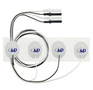 Prewired Hydrogel Electrodes